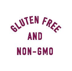 Gluten Free and Non-GMO